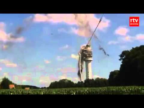 Awesome TV Tower Collapse