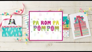 Pa Rom Pa Pom Pom Papercraft Collection | Hobbycraft