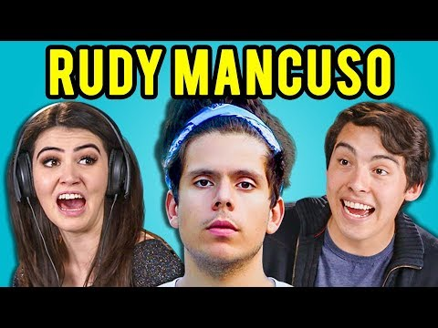 connectYoutube - TEENS REACT TO RUDY MANCUSO