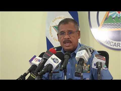 CG Sergio Gutierrez Seguridad Managua 14-06-2021