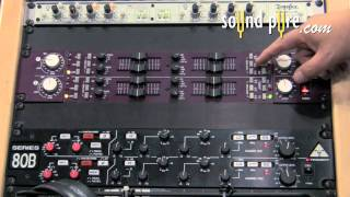 Trident A-Range Dual Channel Mic Pre with Equalizer from AES 2011