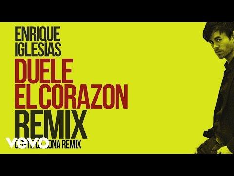 connectYoutube - Enrique Iglesias - DUELE EL CORAZON (Remix)[Lyric Video] ft. Gente de Zona, Wisin