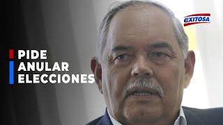 ????????Edison Tito: Pedido de anular elecciones de Jorge Montoya es una amenaza a la democracia