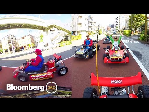 connectYoutube - Real-Life Mario Kart in Tokyo in 360