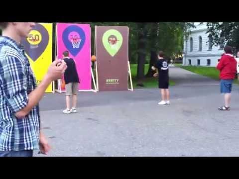 Интерактивная площадка \Я в ТГУ\ (Tomsk city Siberia Russia)