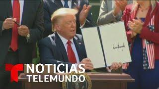 Trump crea una comisión que trabajará para mejorar las condiciones de los estudiantes latinos