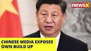 Chinese Media Tries To Spin Lie, Exposes Own Build-Up | NewsX - NEWSXLIVE