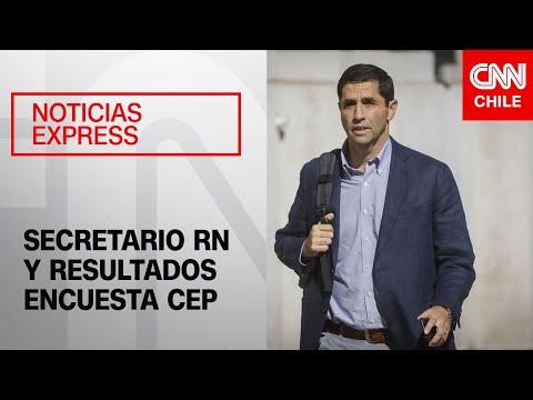 """Secretario de RN reconoce que la relación Gobierno y oposición """"va a costar"""""""