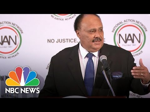 MLK's Son & Daughter Respond To President Trump's Reported 'S***hole' Remark | NBC BLK | NBC News