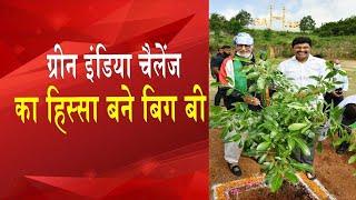 Amitabh Bachchan takes part in Green India Challenge - IANSINDIA