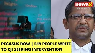 Pegasus Row | 519 People Write To CJI Seeking Intervention | Letter By Lawyers, Activists | NewsX - NEWSXLIVE
