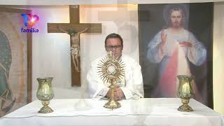 Adoración Eucarística 18 Mayo 2020 Padre Enrique Yanes  - Compártela con otros.