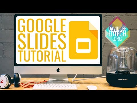 How To: Quick Tutorial for New Google Slides Presentation