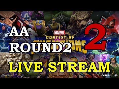 connectYoutube - Archangel Arena - Round 2 - Part 2   Marvel Contest of Champions Live Stream