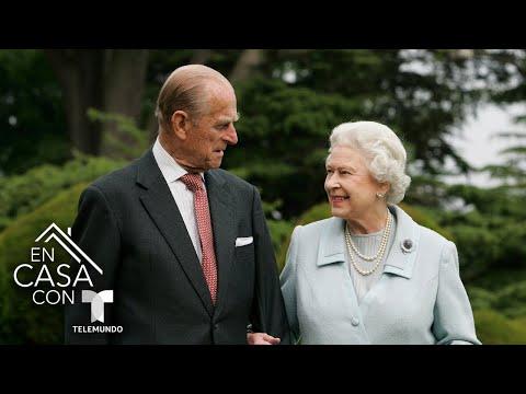 La Reina Elizabeth recibe una nueva especie de rosa en homenaje al príncipe Philip   Telemundo