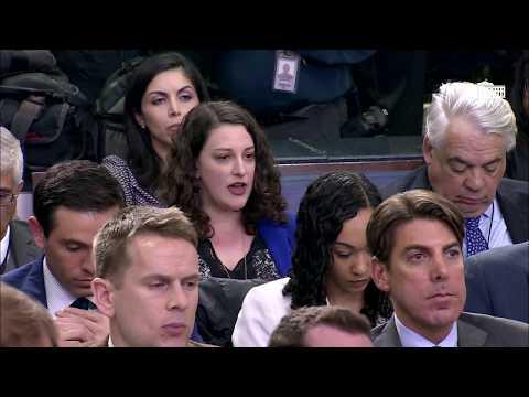 Press Secretary Sarah Sanders Briefs Reporters on Trump's White House