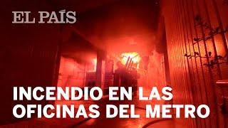 MÉXICO| Así fue el #INCENDIO en las oficinas del METRO