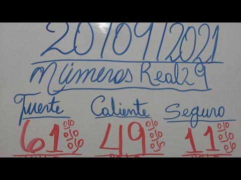 NUMEROS PARA HOY 20/09/2021 DE SEPTIEMBRE PARA TODAS LAS LOTERIAS