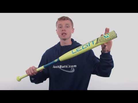 2018 Worth Legit XXL USSSA Slow Pitch Softball Bat: WPURCU