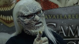 CFX's White Walker Masks from Game of Thrones - Comic Con 2014