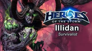 Heroes of the Storm - 'Survivalist' Illidan Build