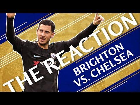 Brighton 0-4 Chelsea | Hilarious Studio Celebrations | The Reaction