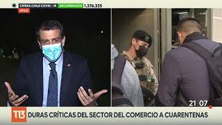 Ministro Delgado ante críticas de la UDI por nueva cuarentena: