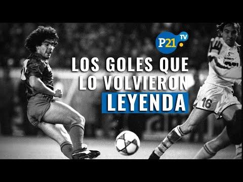 Diego Armando Maradona: LOS CINCO goles que lo INMORTALIZARON