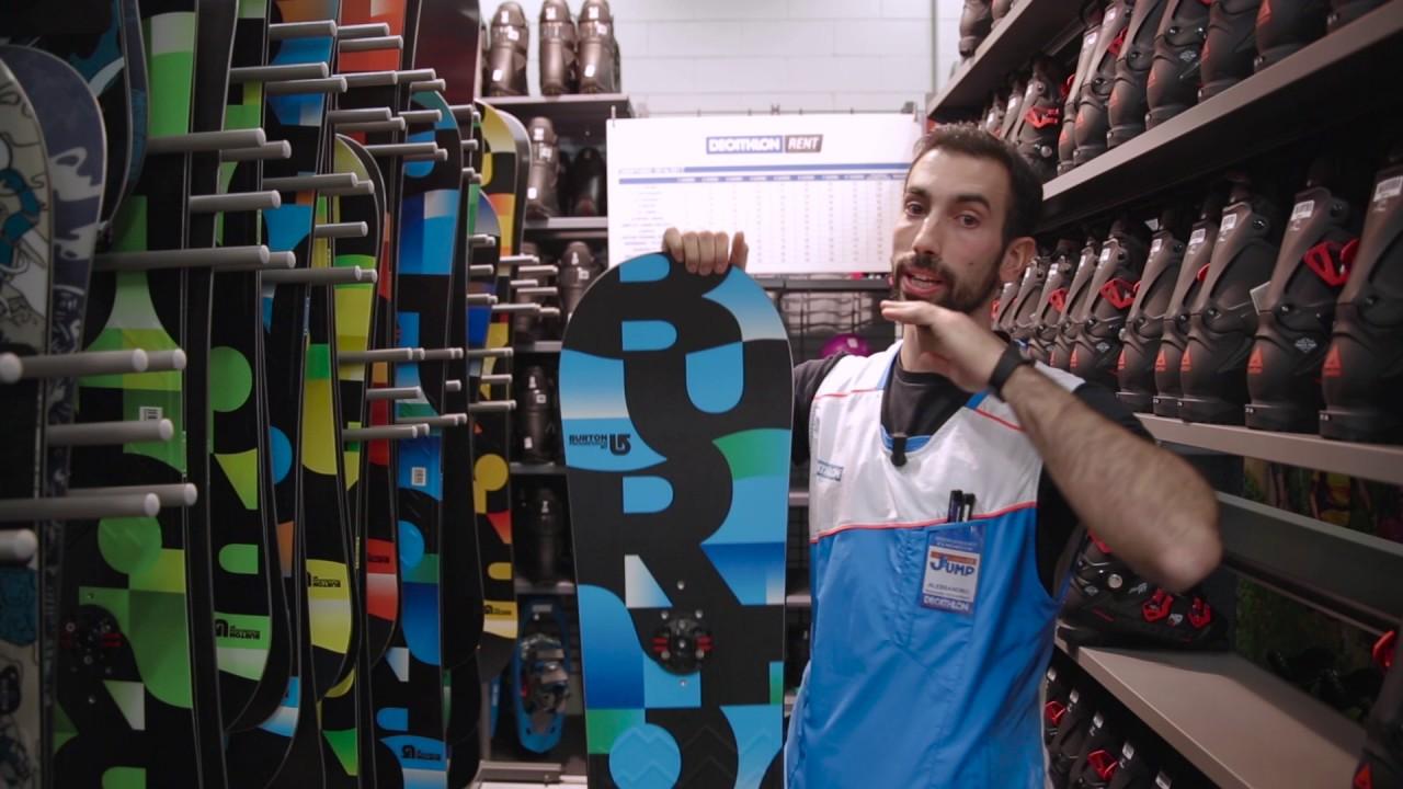 Video come scegliere la tavola da snowboard decathlon settimo torinese sportorino - Tavolo calcio balilla decathlon ...