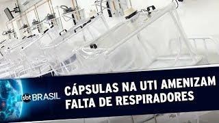 Novo equipamento ameniza falta de respiradores em hospitais do Amazonas | SBT Brasil (19/05/20)