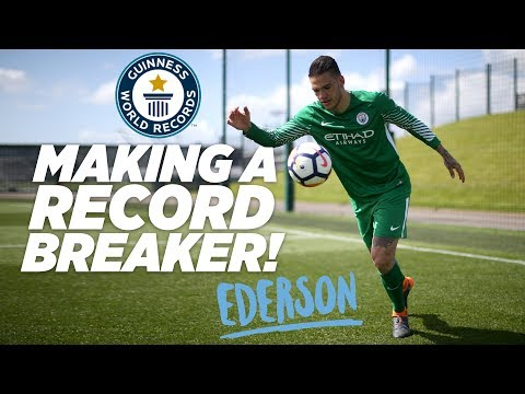 MAKING A RECORD BREAKER | EDERSON DE MORAES | Guinness World Records