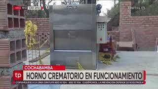 Instalan un horno crematorio en el Cementerio General de Cochabamba