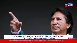 Odebrecht: Fiscalía pide 20 años y seis meses de prisión para Alejandro Toledo