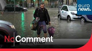 Milan, les pieds dans l'eau