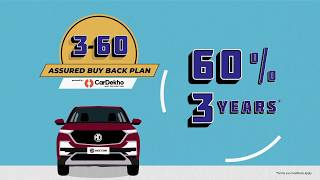 MG Motor and CarDekho 3-60 partnership program