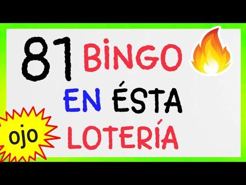 Loteria NACIONAL..! (( 81 )) BINGO HOY..! NÚMEROS QUE MÁS SALEN/ NÚMEROS GANADORES/PREMIOS REVELADO