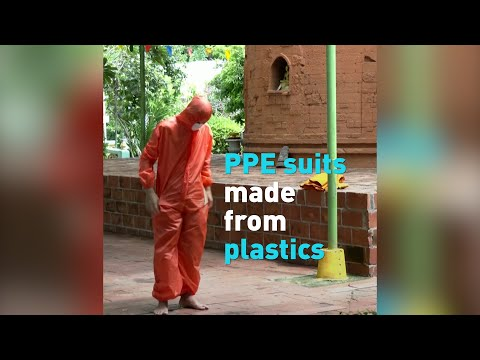 Thailand upcycles plastic bottles for PPE suits