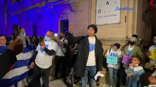 Este es el momento de apretar dice cubano en apoyo al Movimiento San Isidro