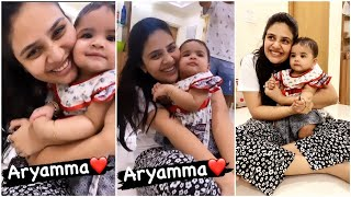 Anchor Sreemukhi Making Fun And Playing With Little Girl | Sreemukh Funny With Baby GIRL - RAJSHRITELUGU