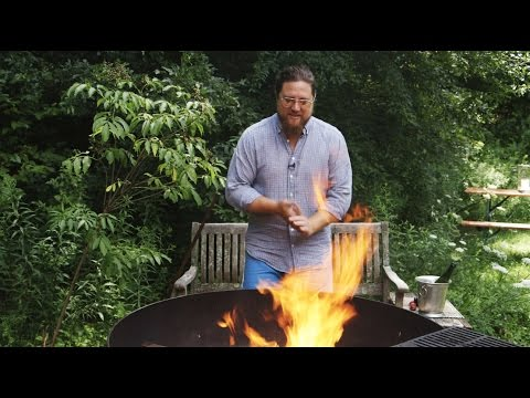 Chef Zakary Pelaccio on Cooking Chicken Over Live Fire