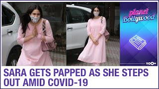 Sara Ali Khan gets papped after a long time as she visits filmmaker Anand L Rai's office - ZOOMDEKHO
