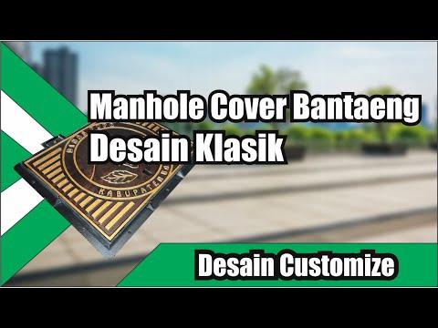 Manhole Cover Ikonik Cast Iron
