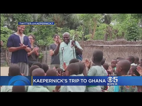 VIDEO: American football star Colin Kaepernick traces ancestral roots to Ghana; celebrates US Independence Day in Cape Coast