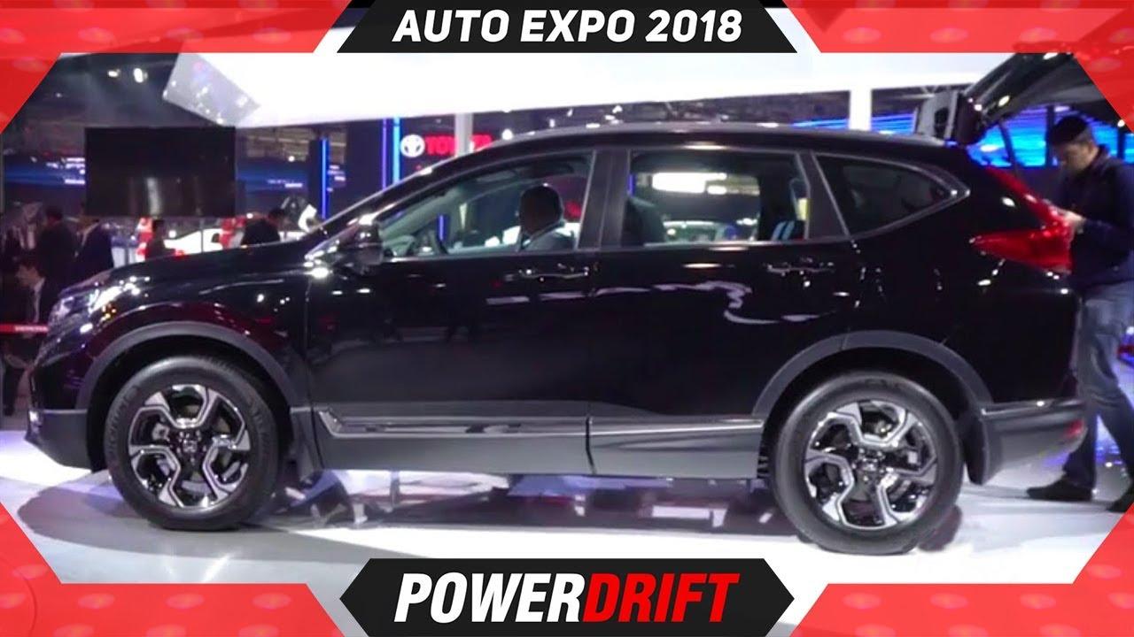 Honda CR V Diesel @ Auto Expo 2018 : PowerDrift