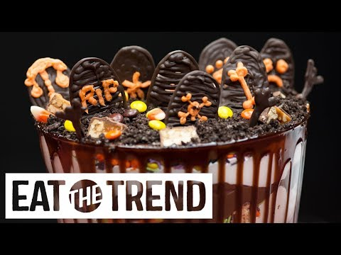 connectYoutube - Halloween Candy Graveyard | Eat the Trend