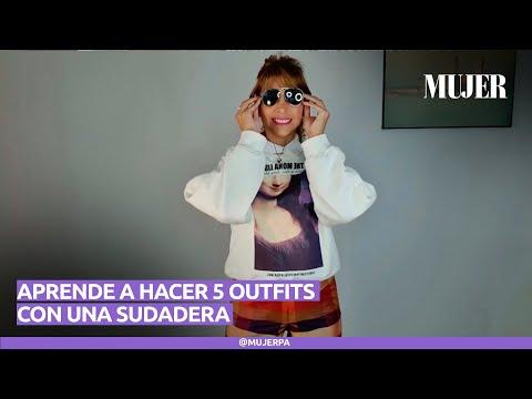 5 outfists con una sudadera | Mujer