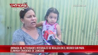 Fumigación permite control del zancudo en distintas zonas de Managua - Nicaragua