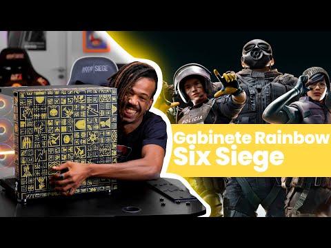 Apresentação Gabinete Rainbow Six Siege Hyperspace