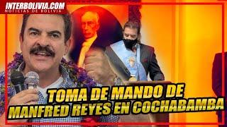 ???? Manfred Reyes Villa jura como autoridad edil de la ciudad de Cochabamba