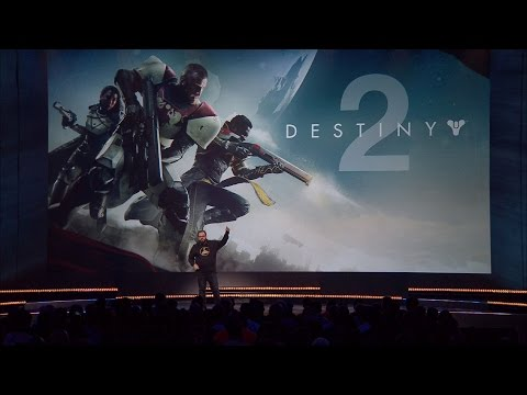 Destiny 2 Gameplay Premiere
